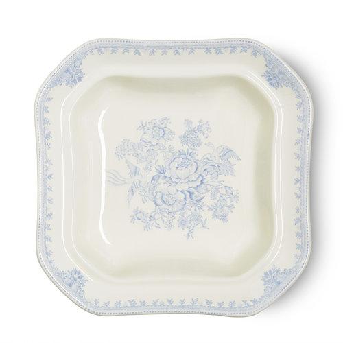 Burleigh Pottery Asiatic Pheasants Blue Open Veg Dish