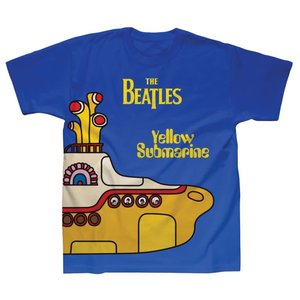 Spike Leissurewear Yellow Submarine Cover Sublimation T-Shirt