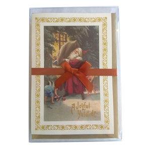 Boxed Christmas Cards - Santa at the Window