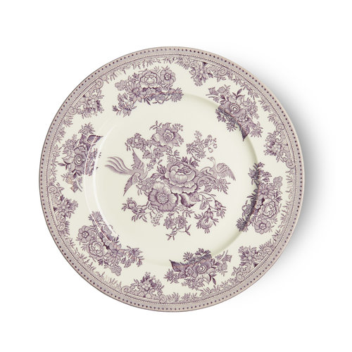 Burleigh Pottery Asiatic Pheasants Plum Medium Plate