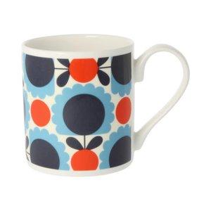 Orla Kiely Scallop Flower Spot Mug