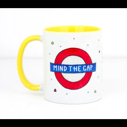 """""""Mind the Gap"""" Mug"""