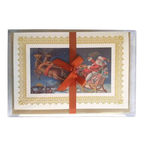 Rossi Boxed Christmas Cards - Santa