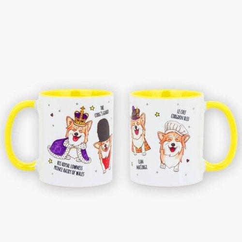 Le Corgi Icons Mug