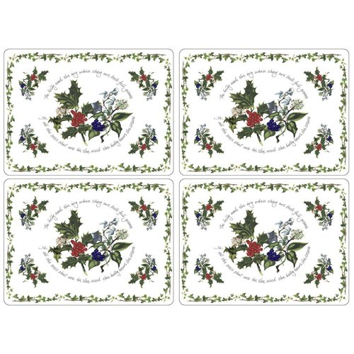 Pimpernel Holly & Ivy Placemats