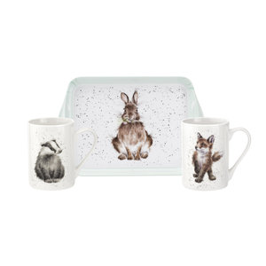 Wrendale Wrendale Garden Friend Mug & Tray Set