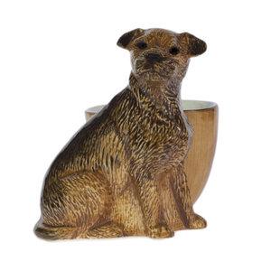 Quail Ceramics Quail Border Terrier Egg Cup