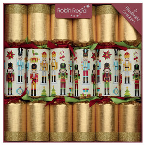 Robin Reed Traditional Nutcracker Christmas Crackers