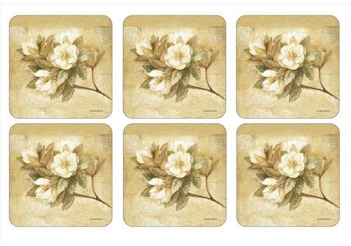 Pimpernel Pimpernel Sugar Magnolia Coasters