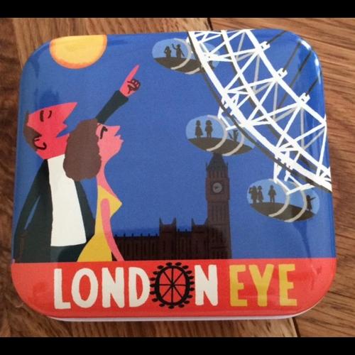 Paul Thurlby London Eye Pocket Tin