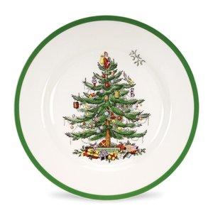 """Spode Christmas Tree Spode 8"""" Salad Plate"""