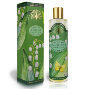 The English Soap Company Lily of the Valley 300ml Shower Gel