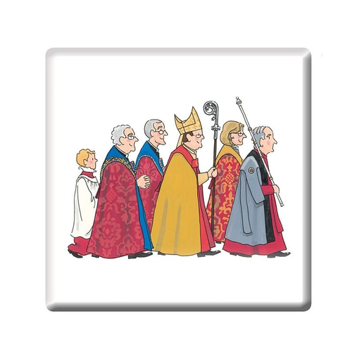 Alison Gardiner Cathedral Procession Coaster
