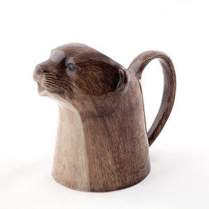 Quail Ceramics Quail Otter Jug Medium