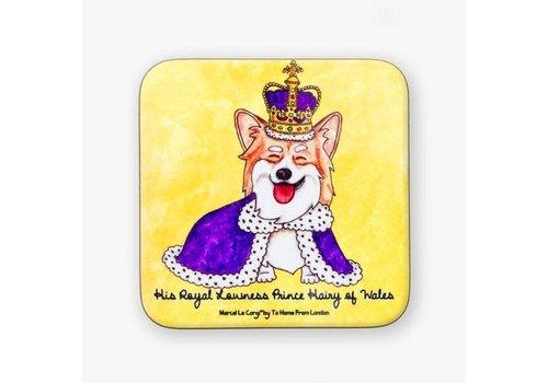 Le Royal Corgi Coaster