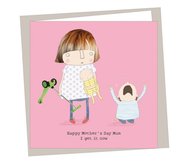 Get It Now Mother's Day Card
