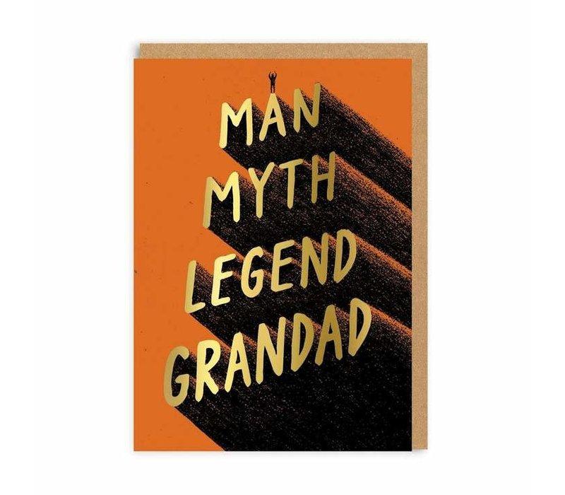 Man Myth Legend Granddad Card