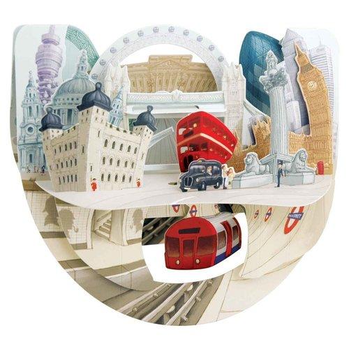 Santoro London Popnrock London Card