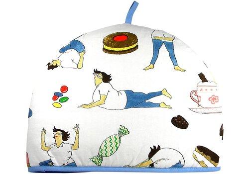 McCaw Allan Yoga & Calories Tea Cosy
