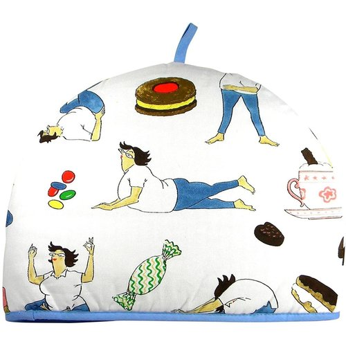 McCaw Allan Yoga & Calories Tea Cosy