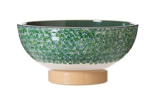 Nicholas Mosse Nicolas Mosse Green Lawn Salad Bowl