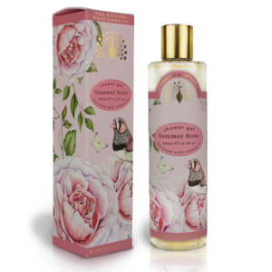 The English Soap Company Summer Rose Shower Gel 300ml