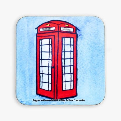 Telephone Box Coaster