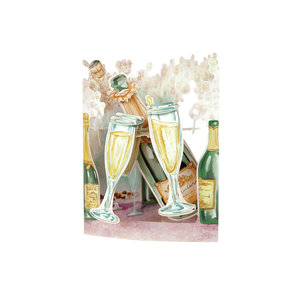 Santoro London Swing Cards Champagne