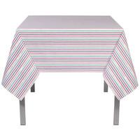 Rectangular North Pole Stripe Tablecloth