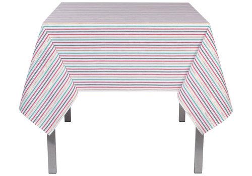 Now Designs Rectangular North Pole Stripe Tablecloth