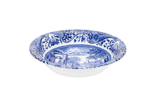 Spode Blue Italian Ascot Cereal Bowl