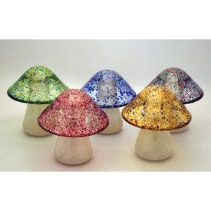 Twists Glass Studio Mike Hunter Glass Mushroom