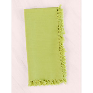 April Cornell Set of 4 Essential Light Green Napkins