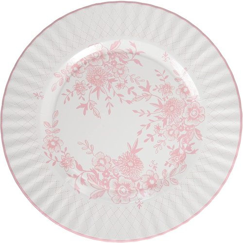 Talking Tables Large Party Porcelain Plates 8 Count