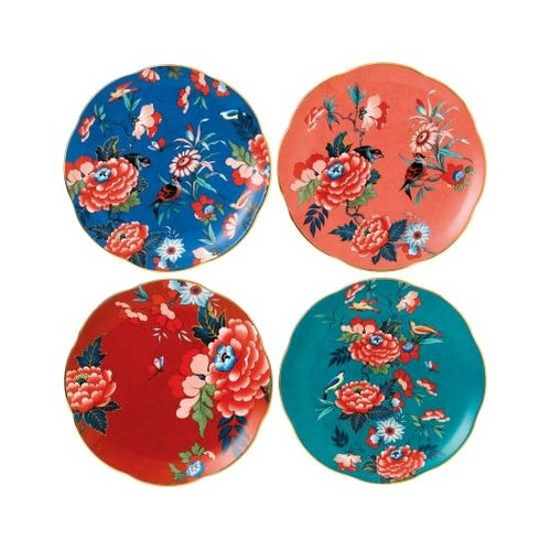 Wedgwood Paeonia Blush Set of 4 Plates