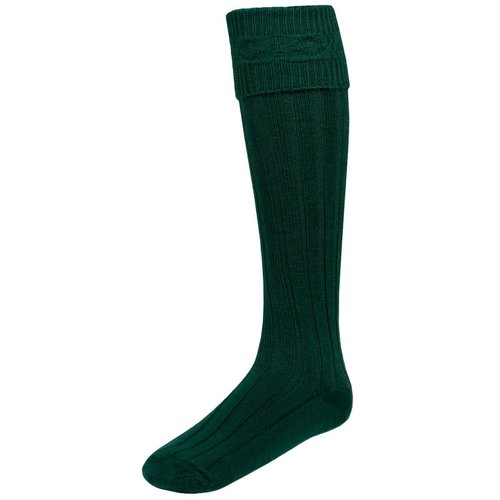 Lochcarron of Scotland Kilt Hose Medium Bottle Green