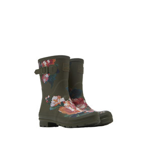Joules USA Green Molly Welly with Flowers