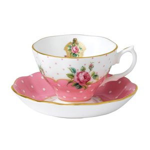 Royal Albert Cheeky Pink Teacup & Saucer Set