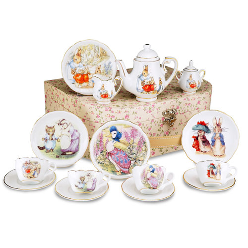 Reutter Porzellan Peter Rabbit Tea Set for 4 - Friends