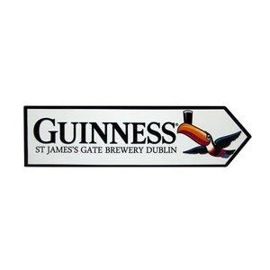 Guinness Guinness Metal Road Sign-Toucan St. James Gate