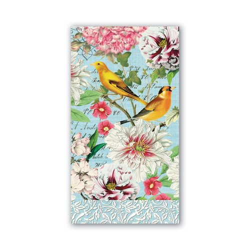 Michel Design Works Michel Garden Melody Hostess Napkins