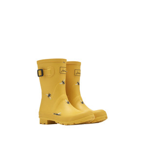Joules USA Gold Botanical Bee Molly Welly