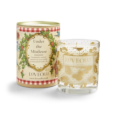 LoveOlli LoveOlli Under The Mistletoe Candle
