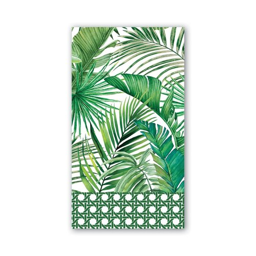 Michel Design Works Michel Palm Breeze Hostess Napkins