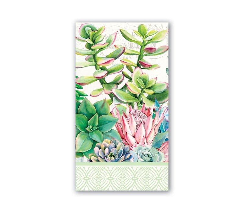 Michel Pink Cactus Hostess Napkins