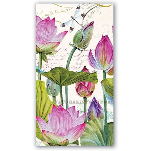 Michel Design Works Michel Water Lillies Hostess Napkins