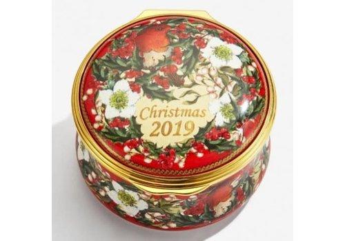 Halcyon Days Halcyon Days 2019 Christmas Box Enamel Box