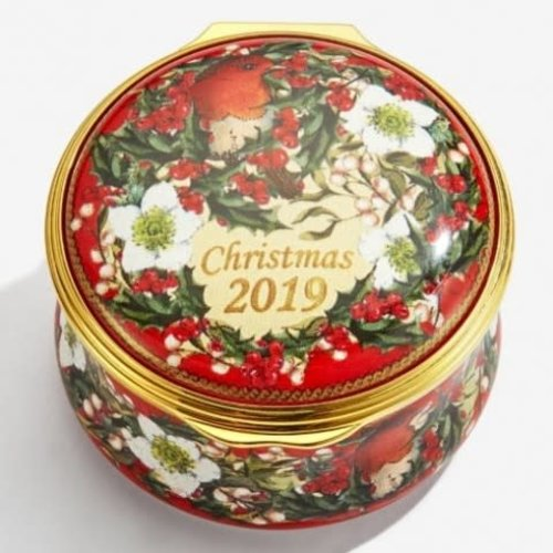 Halcyon Days Halcyon Days 2019 Christmas Box Enamel Box