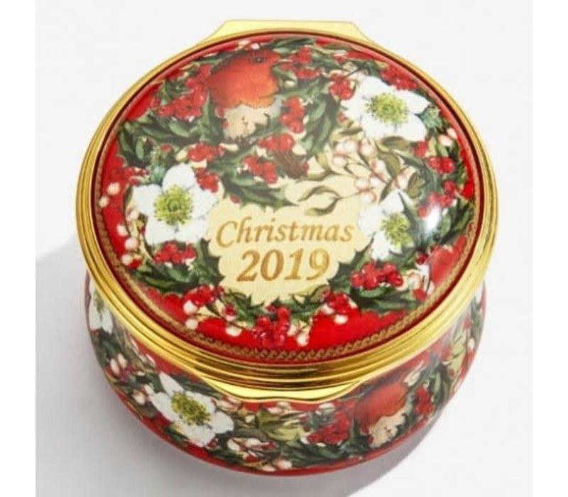 2019 christmas box enamel box