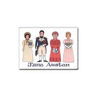 Jane Austen Fridge Magnet (Jumbo 90 x 65mm)